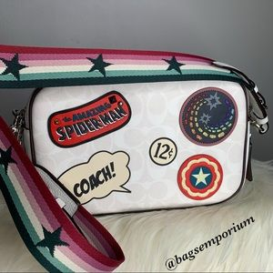 Coach x Marvel Jes Crossbody Bag